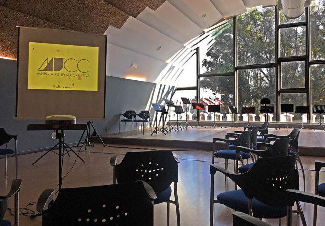 Interior del Conservatorio de Música del Cuartel de Artillería de Murcia donde se realizaron las masterclass del festival Murcia Ciudad Creativa