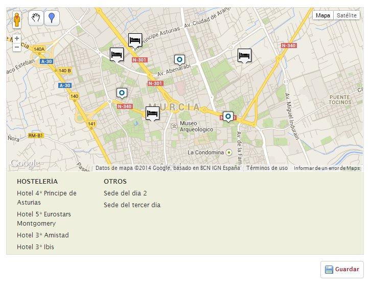 hoteles mapa